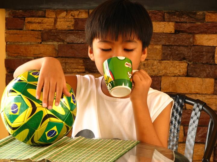 One of Ren's Favorite Drinks- Milo!