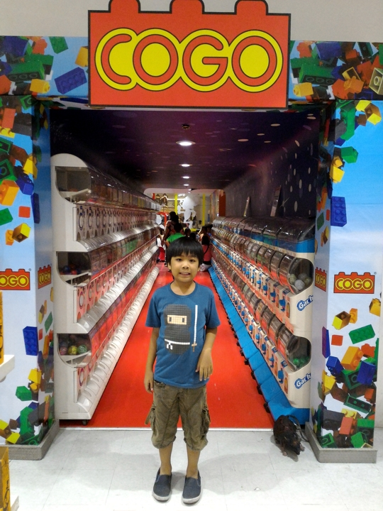 COGO Activity Area in Toy Kingdom at SM Megamall
