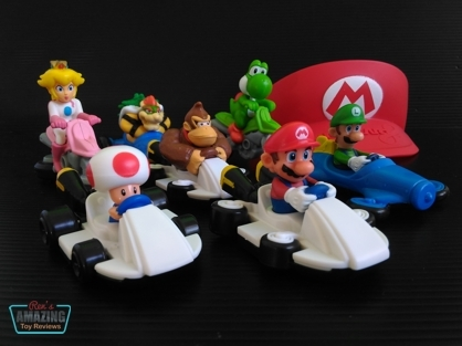 McDonald's Happy Meal: Mario Kart 8 2015