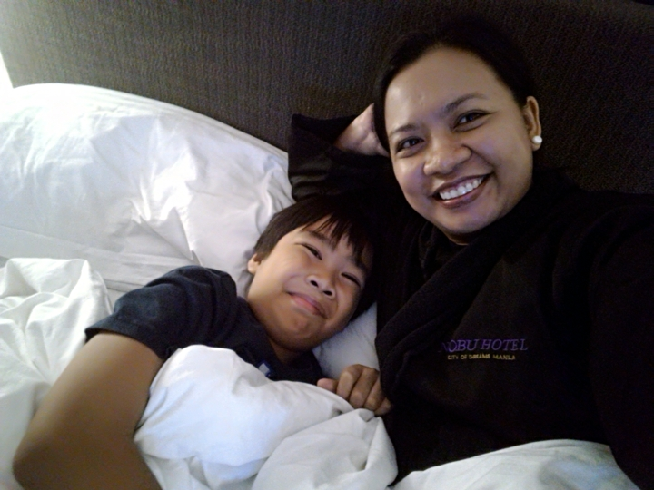 Our brief staycation at Nobu Hotel Manila