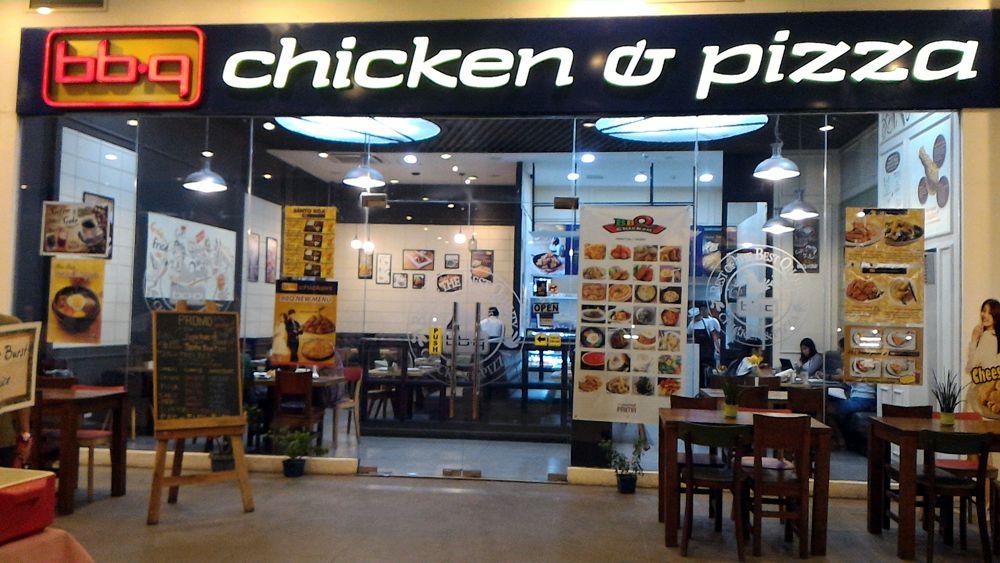 BBQ Chicken and Pizza at Starmall Prima Daang Hari