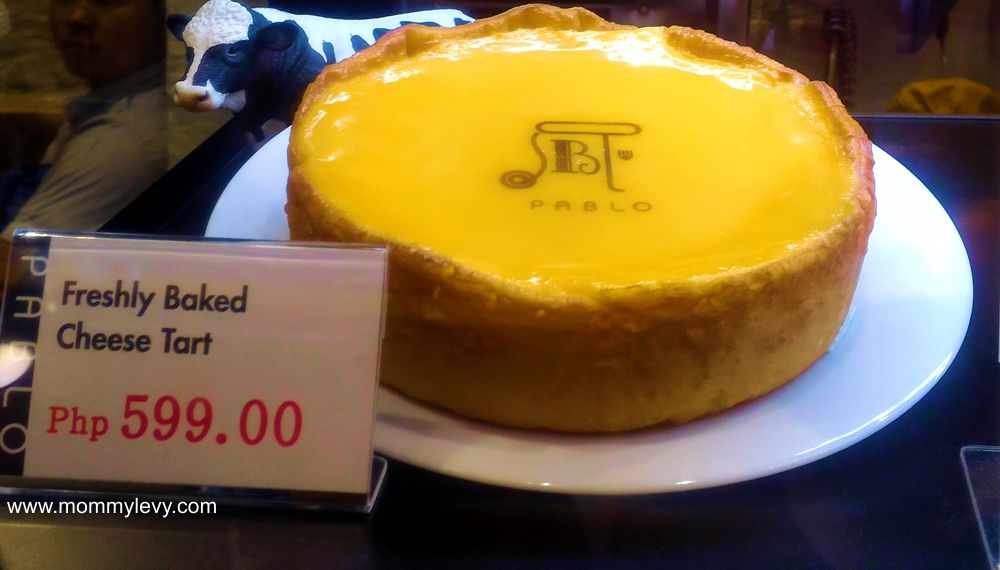 Pablo Cheese Tart Manila Prices and Location - Mommy Levy