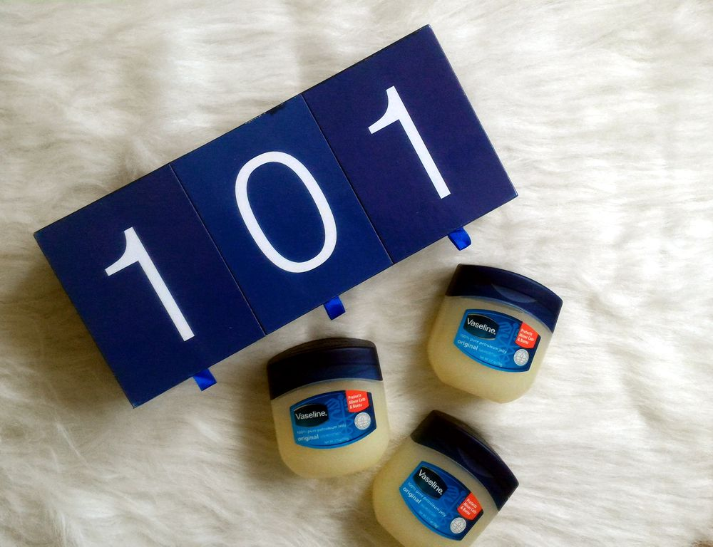101 Ways to Use Vaseline Petroleum Jelly