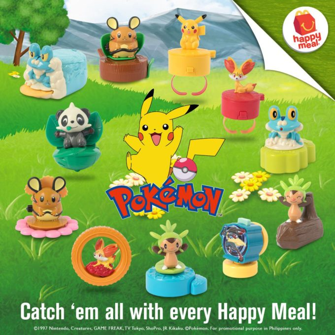 Mcdonald's Happy Meal: POKEMON Toys