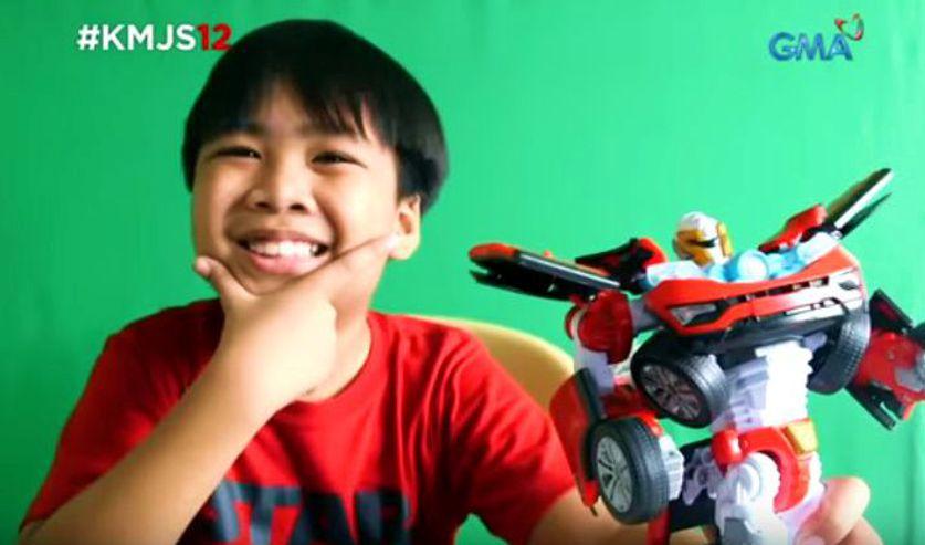 Behind the Scene Of Ren's Amazing Toys in Kapuso Mo Jessica Soho