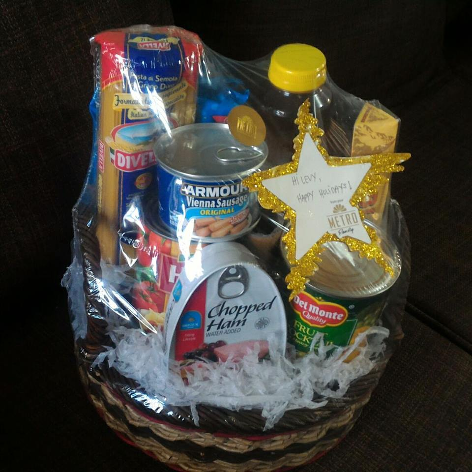 Metro Christmas Basket