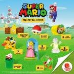 Mcdonald's Happy Meal: Super Mario 2017