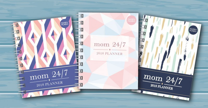 Mom 24/7 Planner 2018 by Mommy Mundo