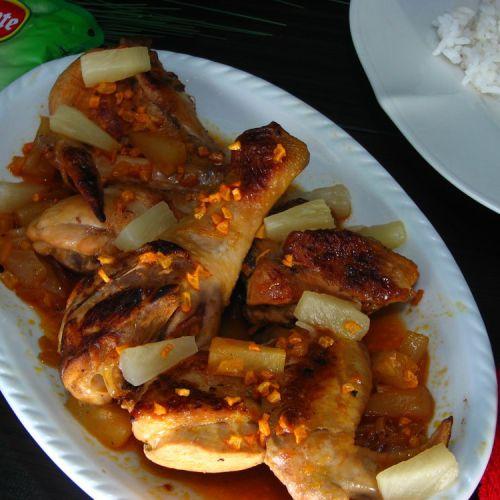 Adobong Manok Sa Atsuete Recipe