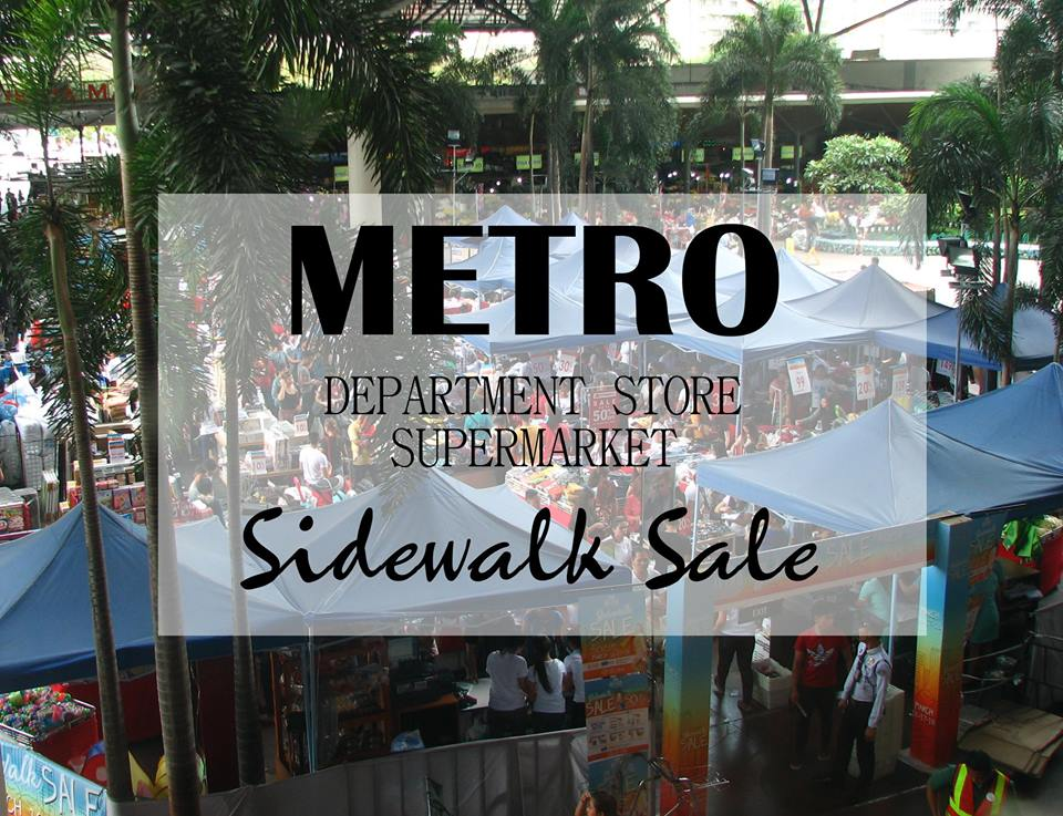 Metro Sidewalk Sale Overview