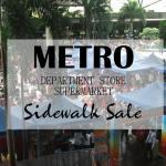 Metro Sidewalk Sale Overview