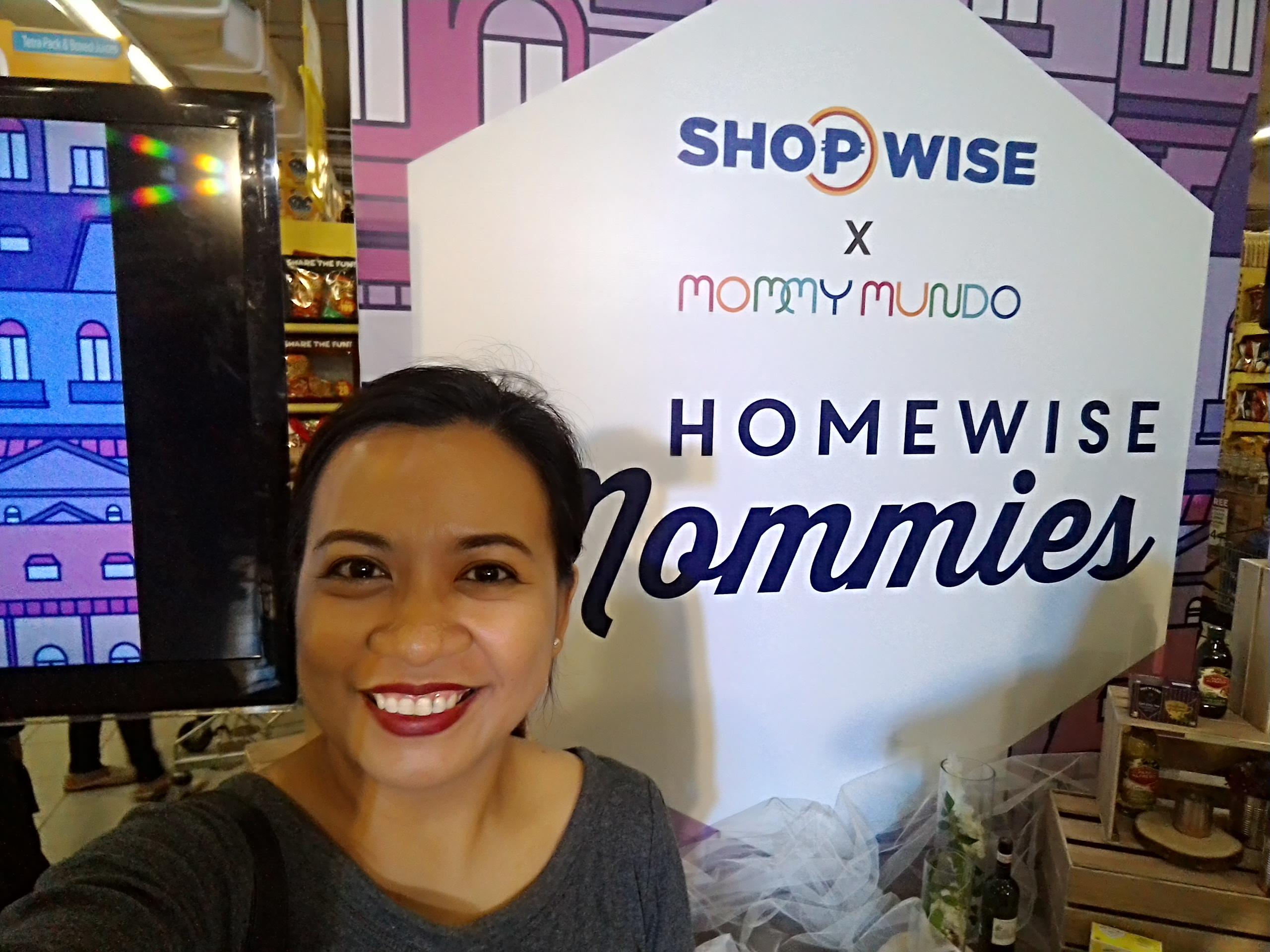 Shopwise X Mommy Mundo Homewise Moms Event