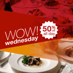 Eatigo Wow Wednesday Promo: Get 50% OFF All Day on April 18