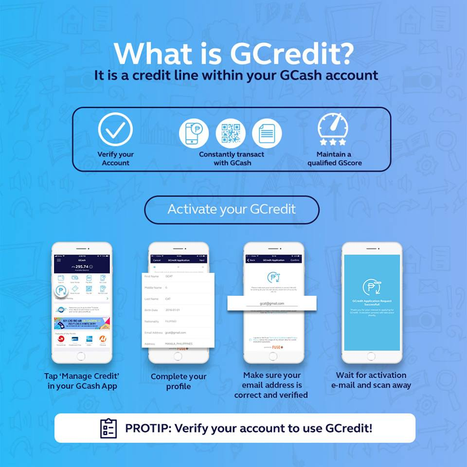 Gcash: You can now borrow money through GCredit - Mommy Levy