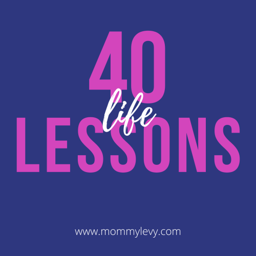 40 Lessons from 4 Decades of Life