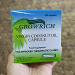 Take GROWRICH VCO to Boost Your Immunity Daily
