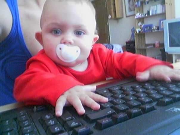 Thuiswerken met een kleintje