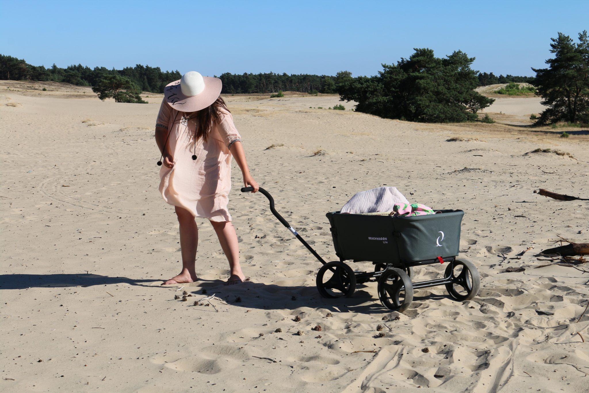 Een Beachwagon, de handige bolderwagen voor iedereen!