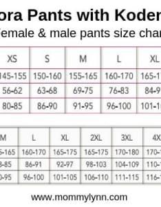 Aulora pants size chart also with kodenshi measurement mommy lynn rh mommylynn