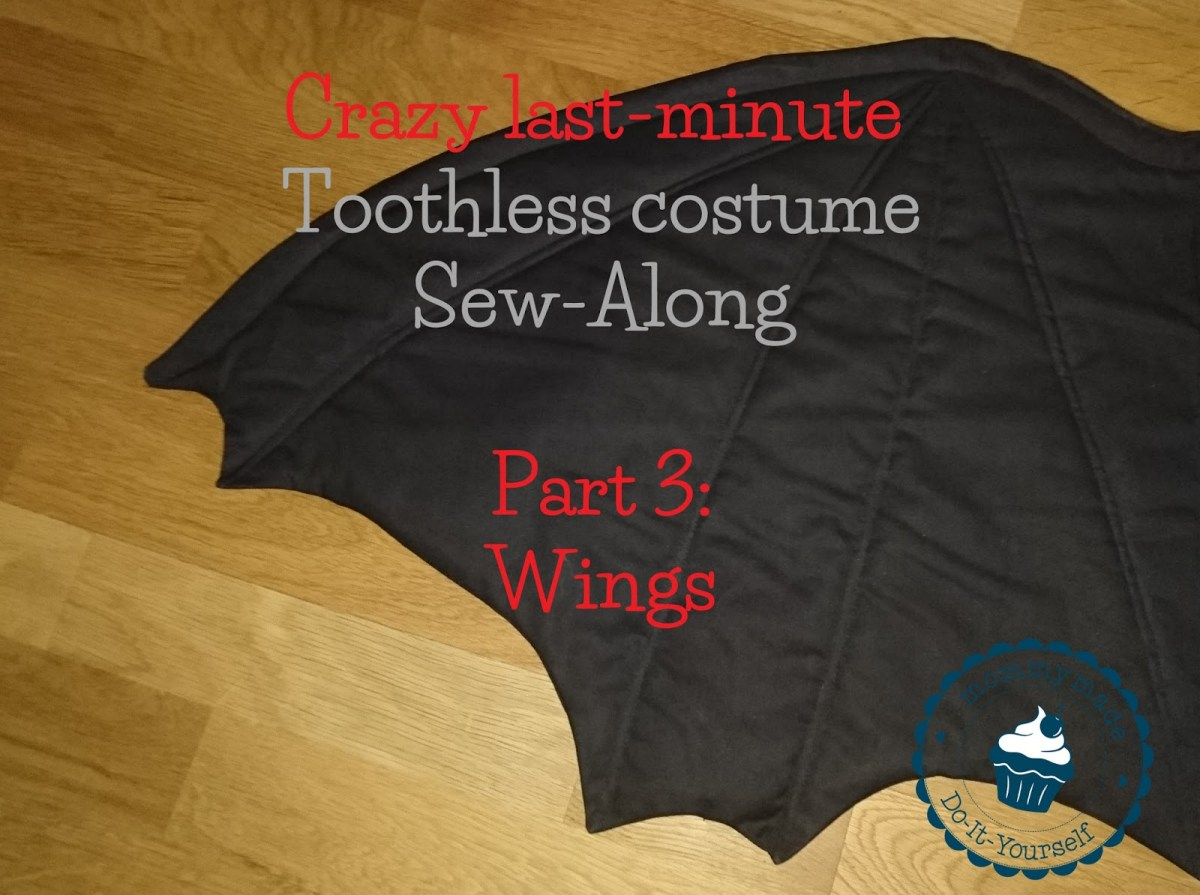 Dragon costume Sew Along - 3 - WINGS