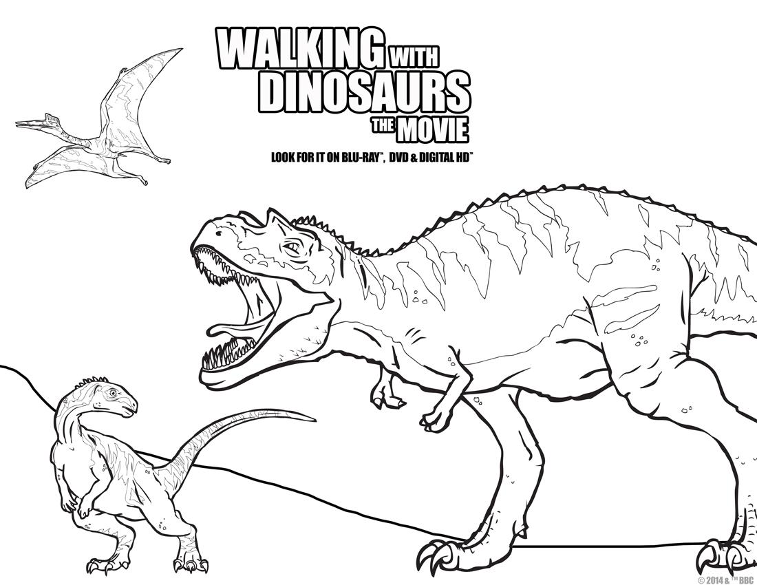 Dinosaur Fun for Movie Night? Walking With Dinosaurs The