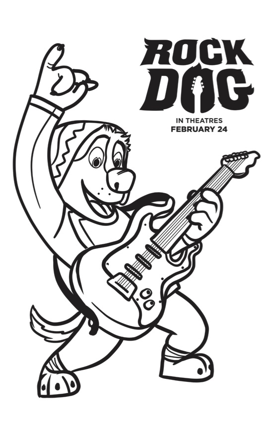 free dog coloring pages # 18