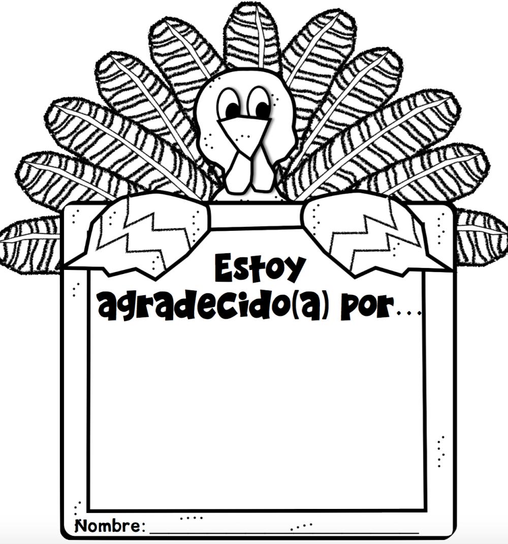 medium resolution of Thanksgiving Freebies in Spanish - MommyMaleta