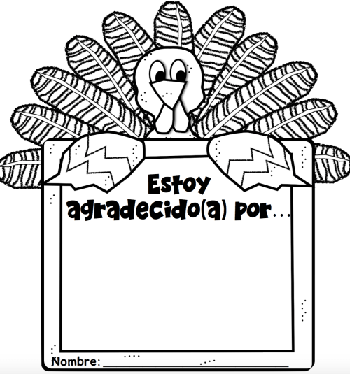 small resolution of Thanksgiving Freebies in Spanish - MommyMaleta