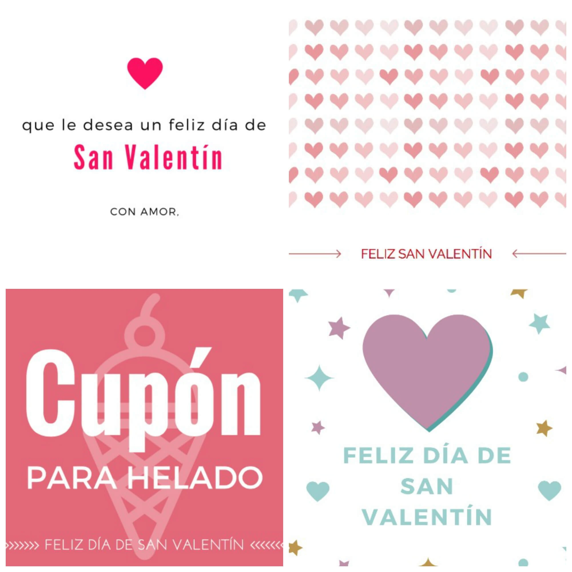 Free Valentine Card Printables In Spanish