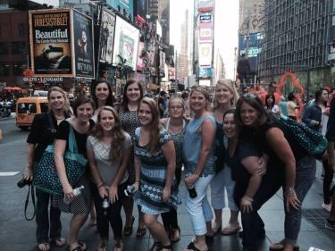 Q cuz reunion 2 Times Square