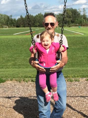 Swing with pappap 8_2014