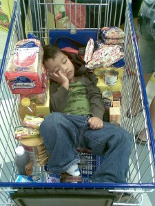 How do I Grocery Shop with Little Ones?