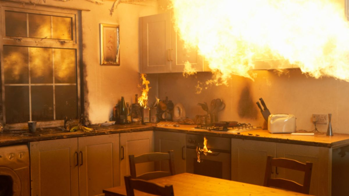 house fire causes