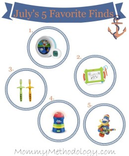 July's 5 Favorite Finds for 2014