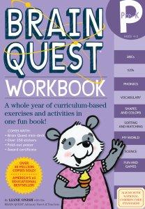 Brain Quest prek workbook