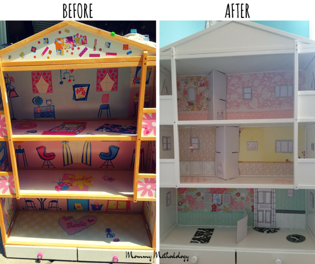 Before & After Dollhouse (1)