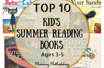 Top 10 Kid's Summer Reading Books