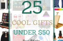 25 Cool Gifts  Under $50