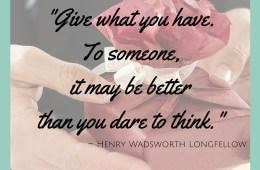 Day 11 Method: Joy In Giving