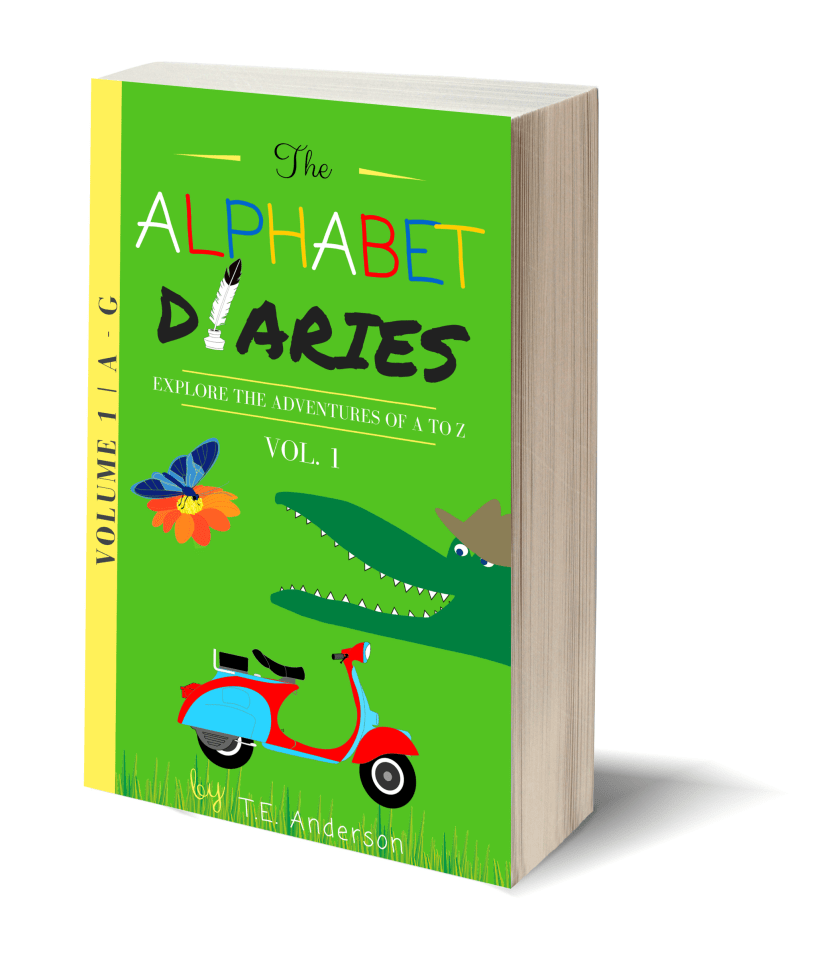 The Alphabet Diaries - Volume 1 | Looking for a cool, fun, educational way to teach your pre-k to 1st grader their vocabulary? This ebook is a must! The Alphabet Diaries - Volume 1 includes letters A-G with original stories & over 75 pages of printables like coloring pages!