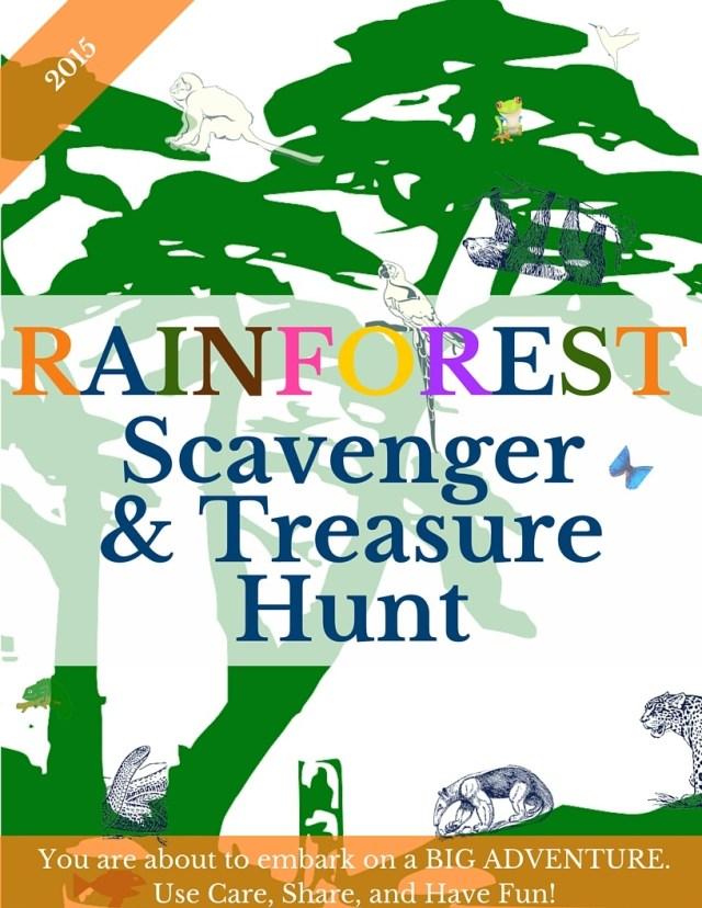 2015 Welcome Rainforest Scavenger & Treasure Hunt