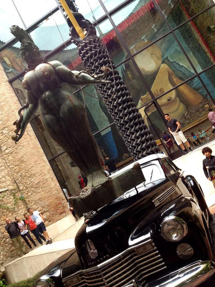 Inside the Museum, Dali's car