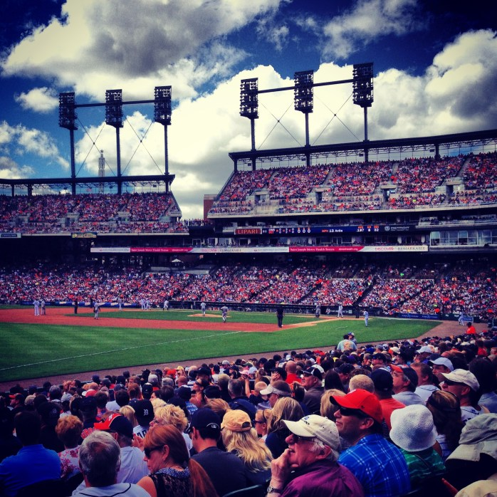 Destination: Detroit Tigers Baseball Game