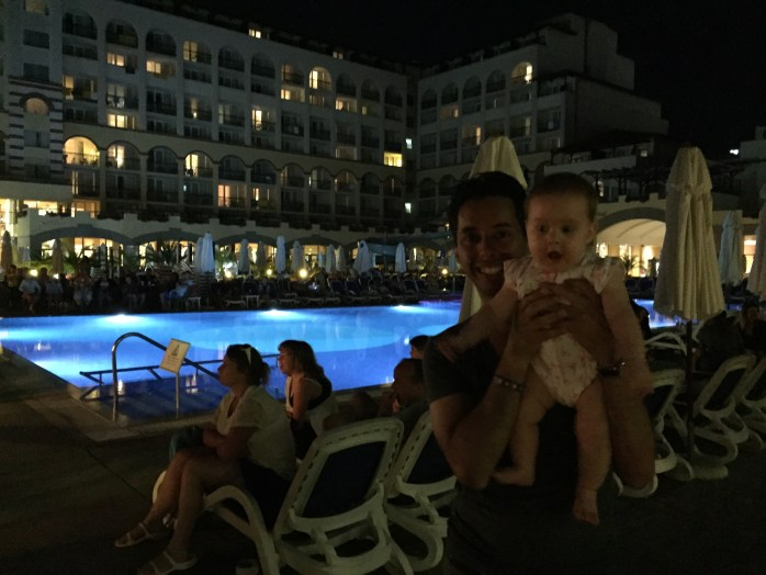 Nighttime Festivities at the Hotel