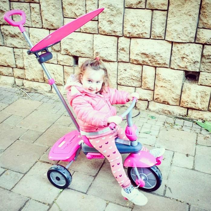 Why I Love Israel, bike