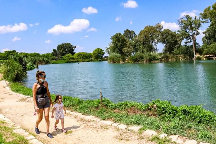Tel Afek lake