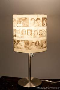DIY Photo Lamp