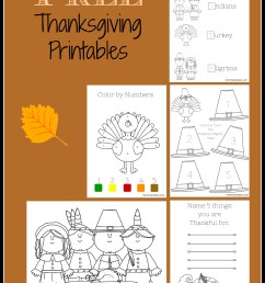 Free Thanksgiving Printable Activity Sheets! - Mommy Octopus [ 2150 x 1550 Pixel ]