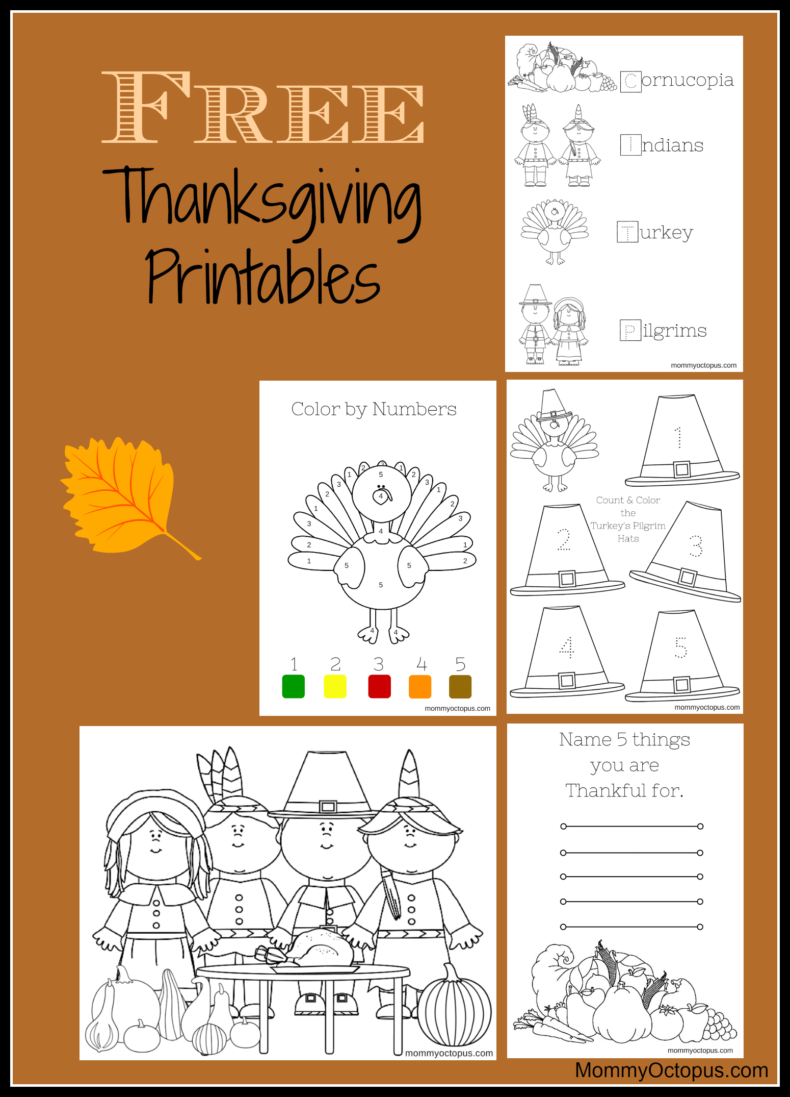 hight resolution of Free Thanksgiving Printable Activity Sheets! - Mommy Octopus