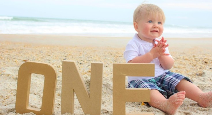 First Birthday Beach Photos